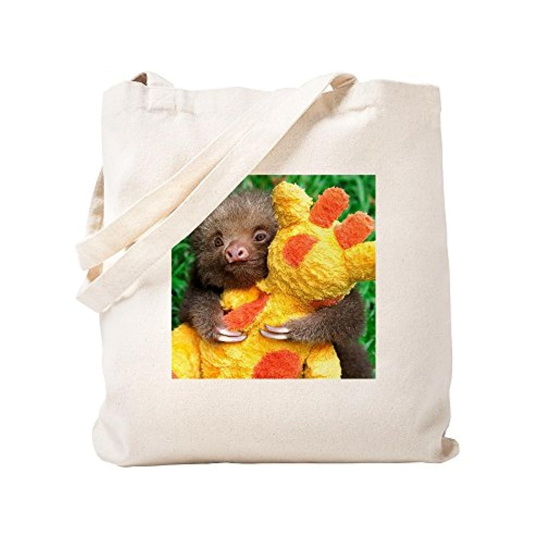 CafePress – Mateo , The Baby Sloth on – ナチュラルキャンバストートバッグ、布ショッピングバッグ S ベージュ 1030966044DECC2