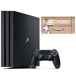 PlayStation 4 Pro ジェット・ブラック 1TB (CUH-7200BB01)【特典】オリジナルカスタムテーマ (配信)