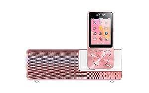 SONY ウォークマン Sシリーズ 16GB スピーカー付 ライトピンク NW-S15K/PI