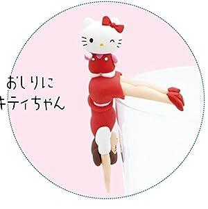 [ コップのフチ子 と HELLO KITTY ] 3. おしりにキティちゃん [ フチ子とハローキティ初コラボ ](単品)