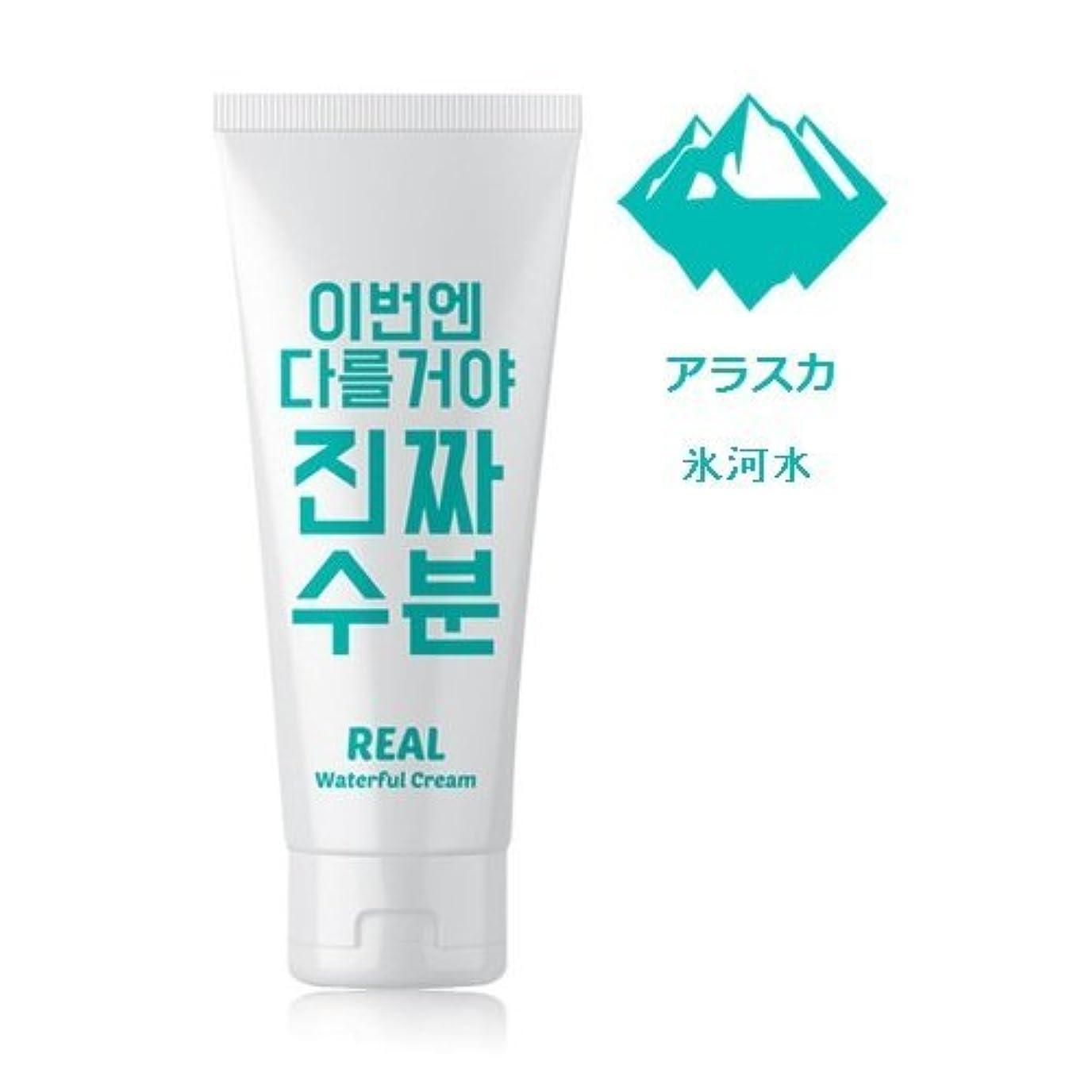徹底的に覗く第二に[1+1]Jaminkyung [FREE MARK] Real Waterful Cream 200g*2EA ジャミンギョン[フリーマーク]今度は違うぞ!! 本当の水分クリーム [並行輸入品]