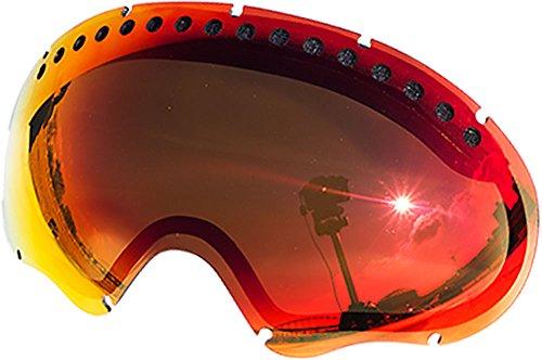 ZEROブランド オークリー A FRAME1.0用交換レンズ RED MIRROR