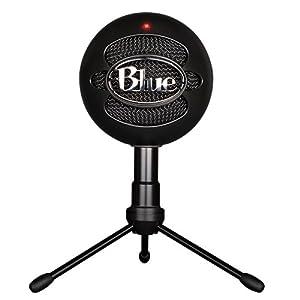 Blue Microphones Snowball iCE Black【日本正規代理店品・メーカー保証2年】ブラック 黒 1929 単一指向性 コンデンサーマイク