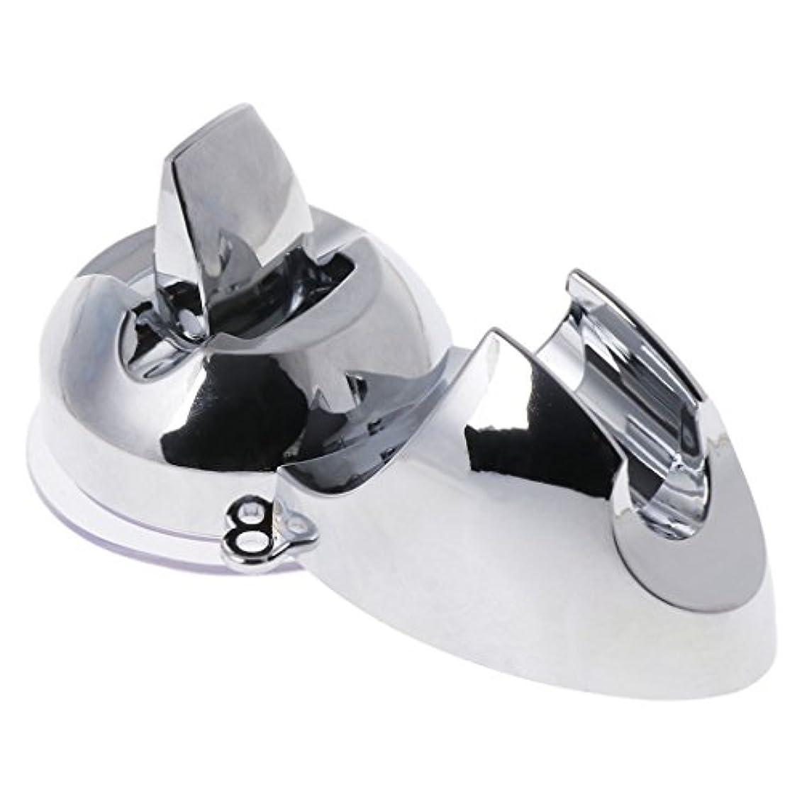 検体ラケットショートカットLamdooヘッドホルダー調整ドリルマウントなしの取り付け可能なシャワーハンドサクションカップ