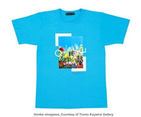 24時間テレビ 2016 チャリティーTシャツ NEWS チャリT グッズ (SS, 水色)