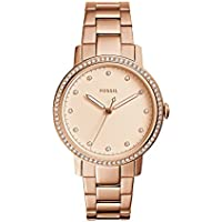 Fossil Neely Rose Gold Stainless Steel Watch ES4288