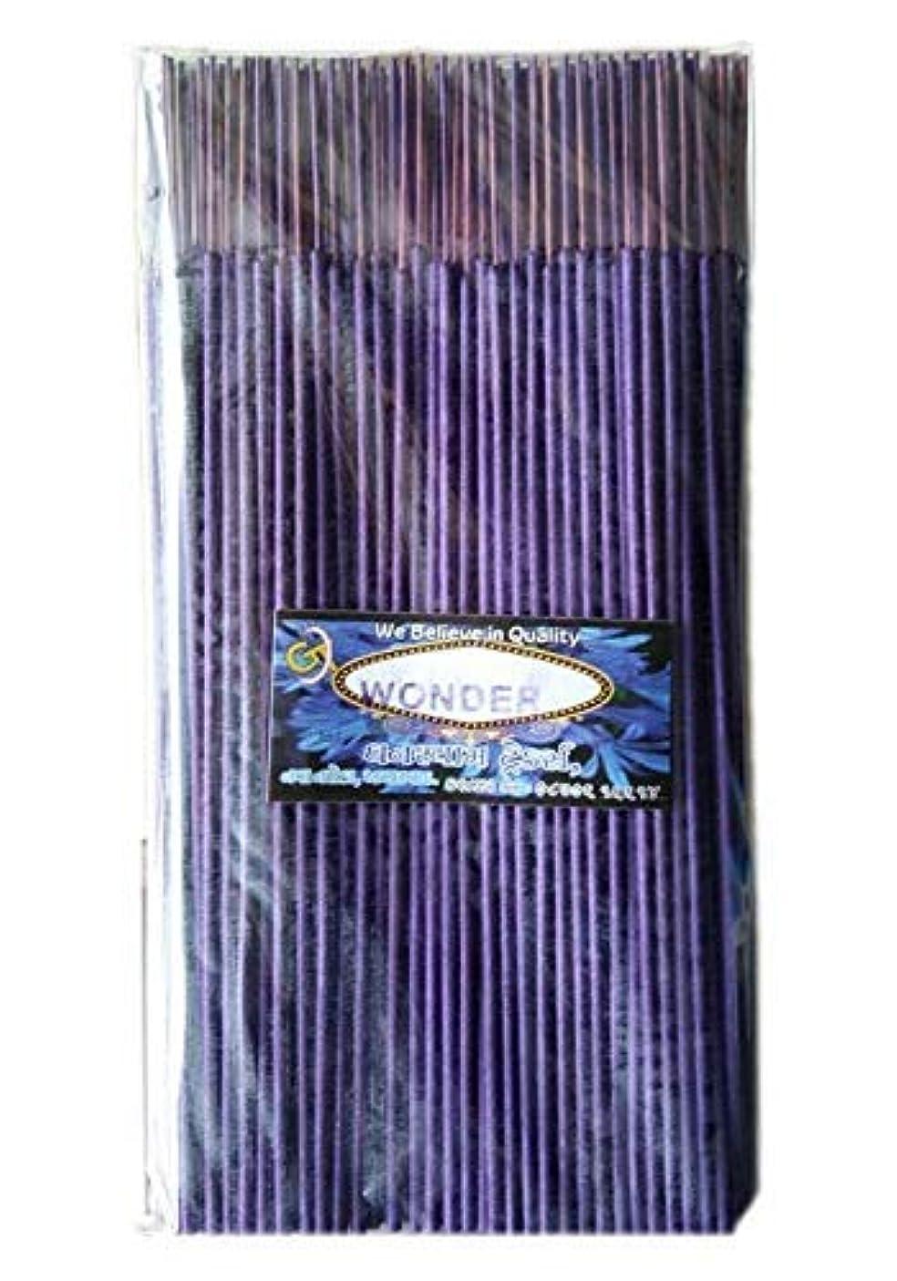 不条理びん復活させるDivyam Wonder Incense Stick/Agarbatti -Purple (250 GM. Pack)