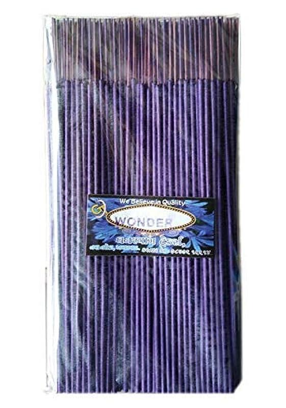 器官ゴミ箱を空にする劣るDivyam Wonder Incense Stick/Agarbatti -Purple (500 GM. Pack)
