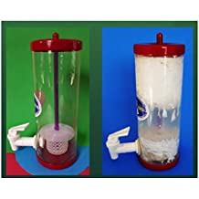 Kefir Fermenter: Curd and Whey Separator 1.0 L (1010ml) with Kefir Grains (20g) in Cage.