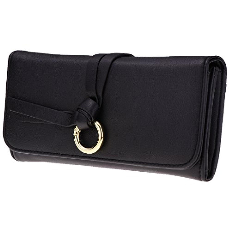 Blesiya 多機能 二つ折り 財布 ウォレット 小銭入れ カード レディース 皮革 全5色 大容量 耐用性 贈り物