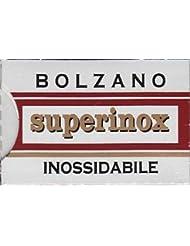 Bolzano Superinox Inossidabile 両刃替刃 5枚入り(5枚入り1 個セット)【並行輸入品】