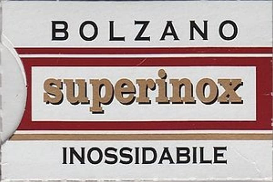 エスニック欺く製品Bolzano Superinox Inossidabile 両刃替刃 5枚入り(5枚入り1 個セット)【並行輸入品】