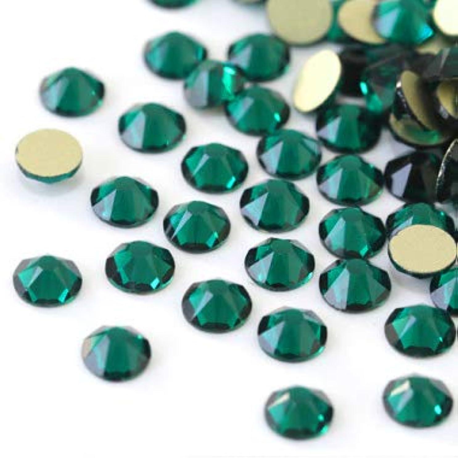 【ラインストーン77】 超高級 ガラス製ラインストーン SS4~SS30 ブルージルコン スワロフスキー同等 (3.0mm (SS12) 約200粒)