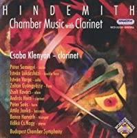 Chamber Music With Clarinet by P. Hindemith
