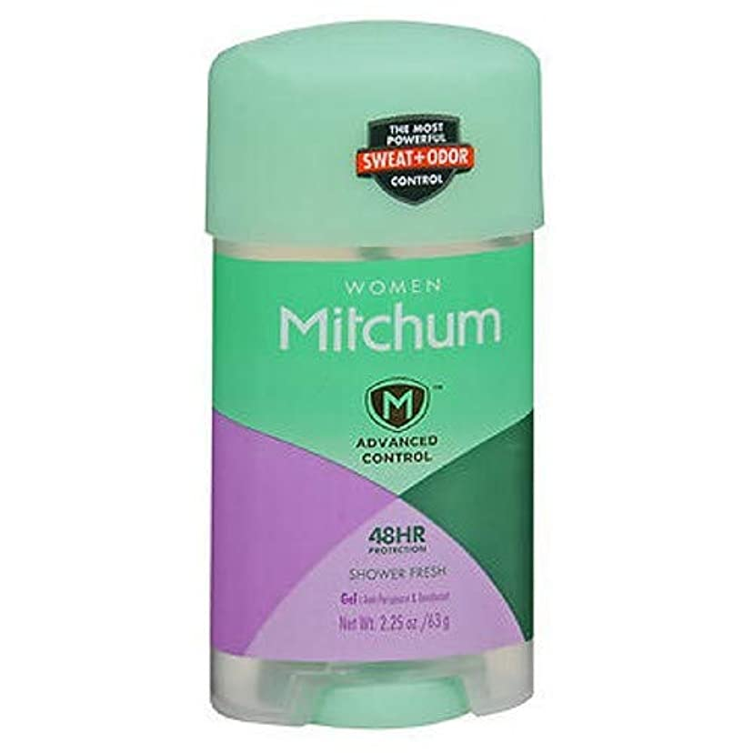 ルーチンどこか高速道路Mitchum Deodorant Womens Gel Shower Fresh 2.25oz (3 Pack) by Mitchum For Women