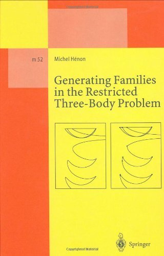 Generating Families in the Restricted Three-Body Problem (Lecture Notes in Physics Monographs)