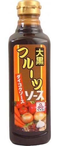 大黒ソース フルーツソース 500ml お好み焼き/焼きそば/とんかつ/揚げ物に