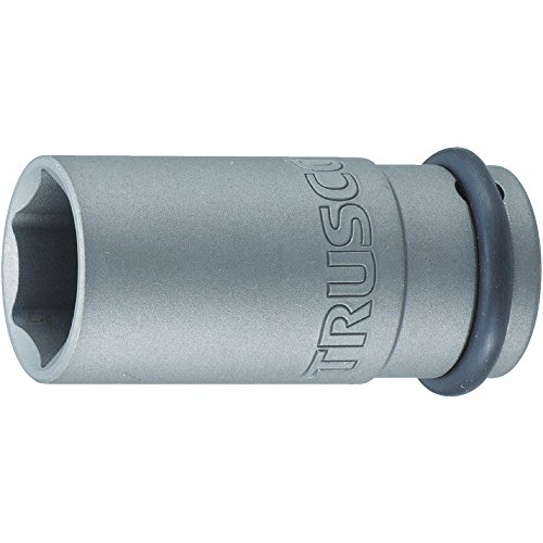 TRUSCO(トラスコ) インパクト用ロングソケット(差込角12.7) 対辺24mm T4-24AL