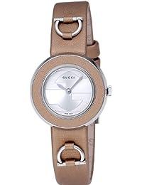 [グッチ]GUCCI 腕時計 Uプレイ シルバー文字盤 サテンベルト YA129516 レディース 【並行輸入品】