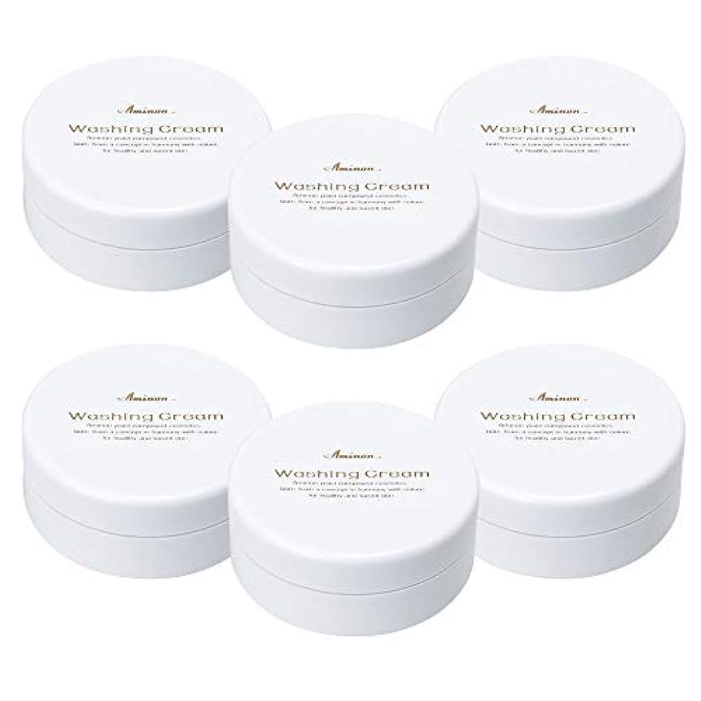 商標なる鎮静剤アミノン 洗顔クリーム 90g (6個セット)