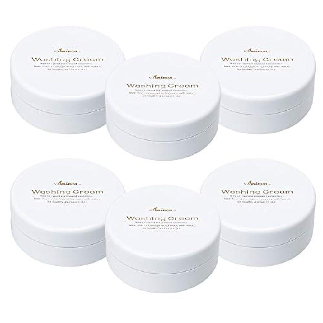 いまハーブ水族館アミノン 洗顔クリーム 90g (6個セット)