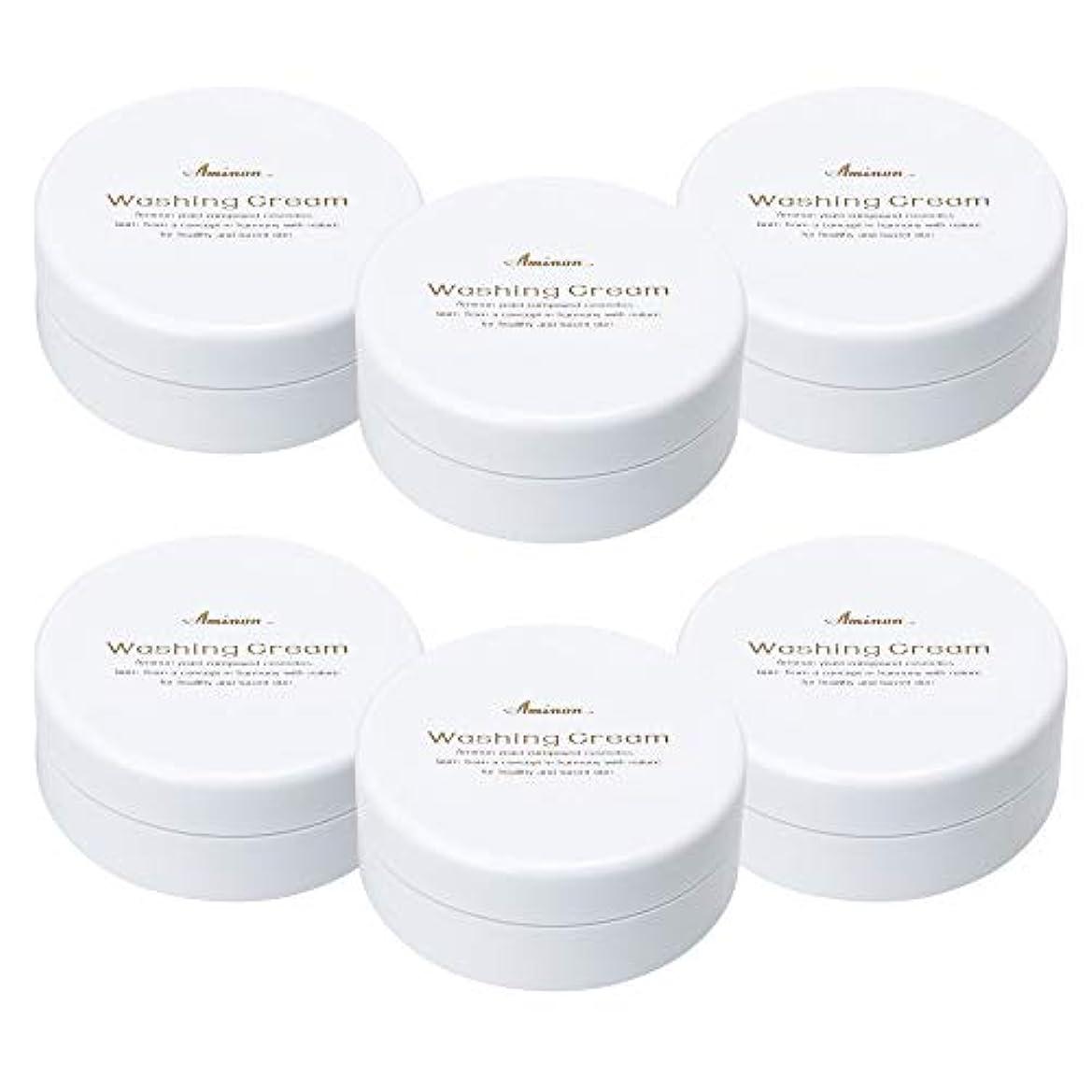 確立します印象的な変化するアミノン 洗顔クリーム 90g (6個セット)