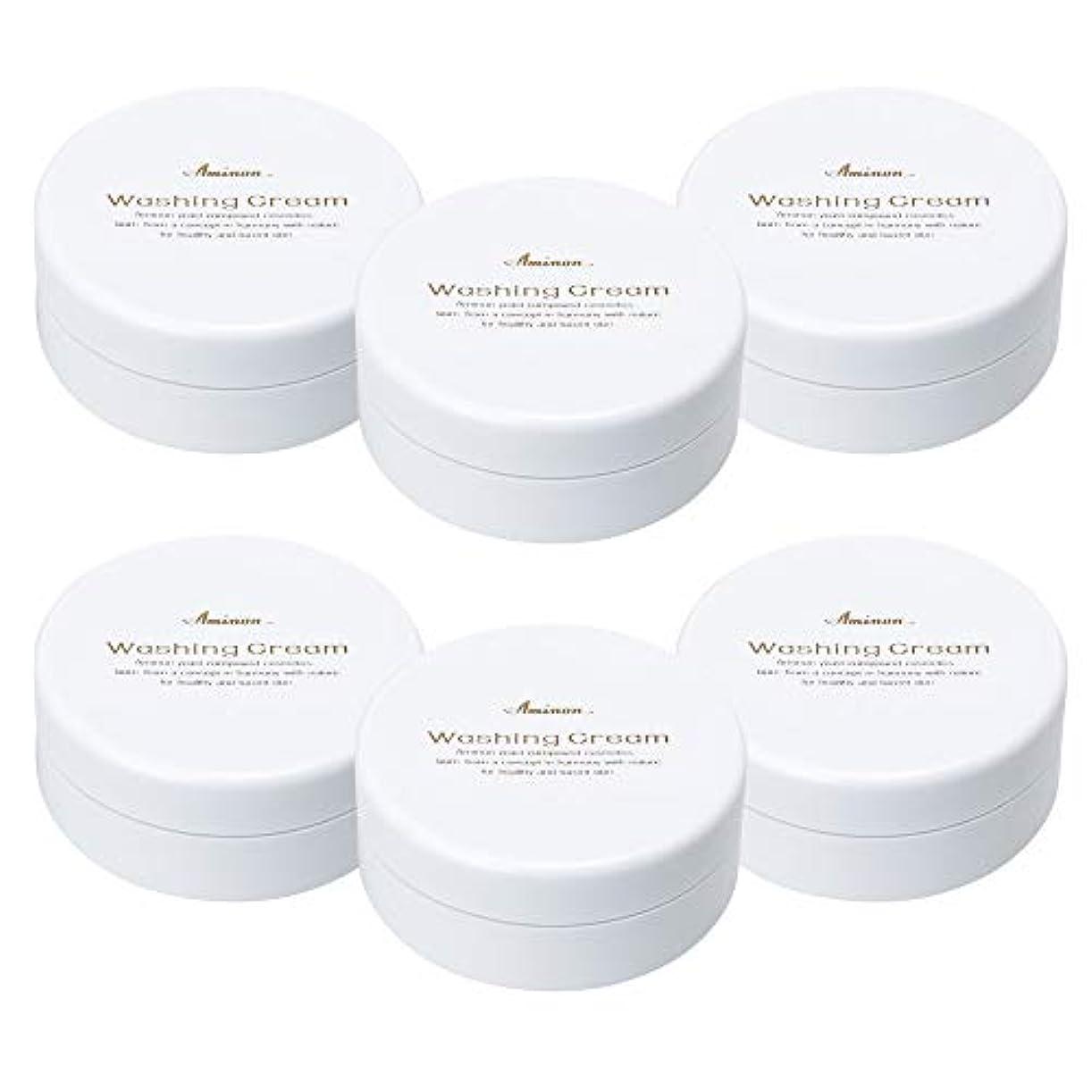 ディスク注文ランデブーアミノン 洗顔クリーム 90g (6個セット)