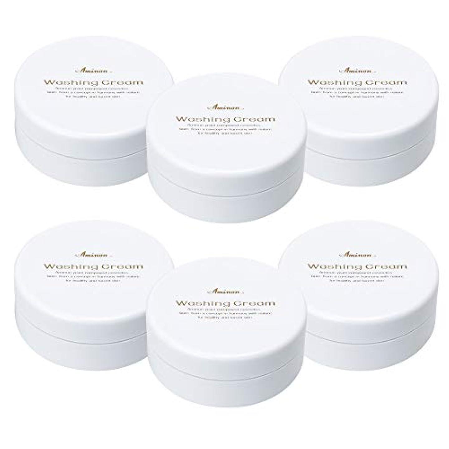 場所シュートセレナアミノン 洗顔クリーム 90g (6個セット)