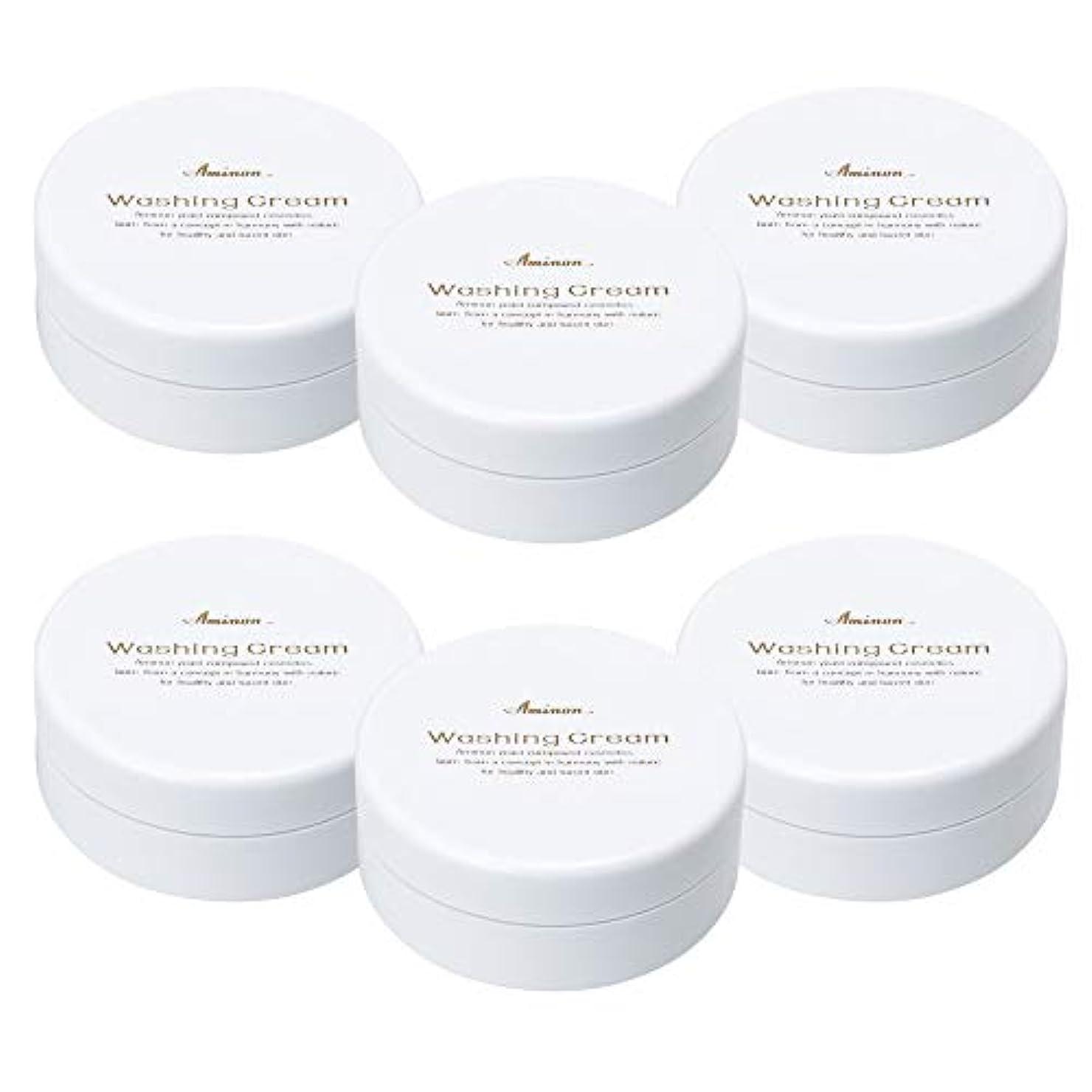 カレッジ価値抵当アミノン 洗顔クリーム 90g (6個セット)