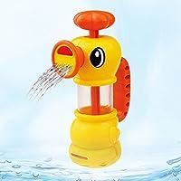 トトハウス(TOTO HOUSE) 噴水のリトルアヒル ハッピーバスタイム お風呂おもちゃ 電池不要