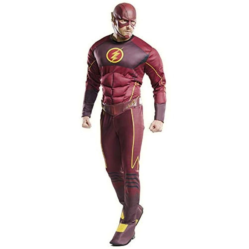 推進、動かす成人期顧問ハロウィン コスプレ メンズ 大人 DX フラッシュ Flash シーズン4 アメコミ 衣装 仮装 イベント なりきり キャラクター