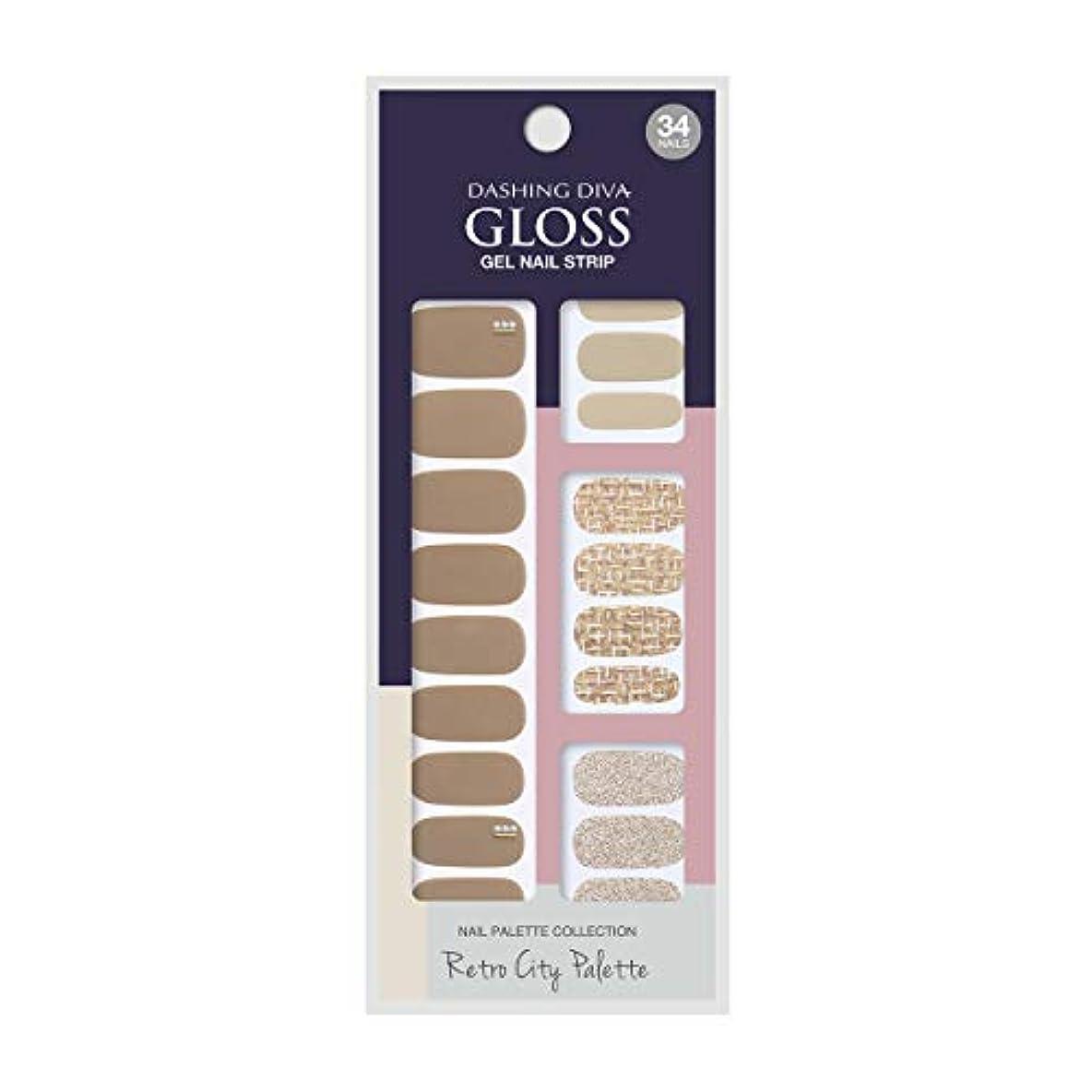 異形取る等ダッシングディバ グロスジェル ネイルストリップ DASHING DIVA Gloss Gel Nail Strip GVP85 -DURY+ オリジナルジェル ネイルシール Tailor Shop