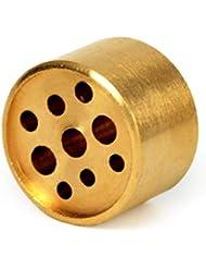 AFZSHG 純銅 9穴 小さなお香スティックホルダー 色あせなし 1.2オンス (34g)
