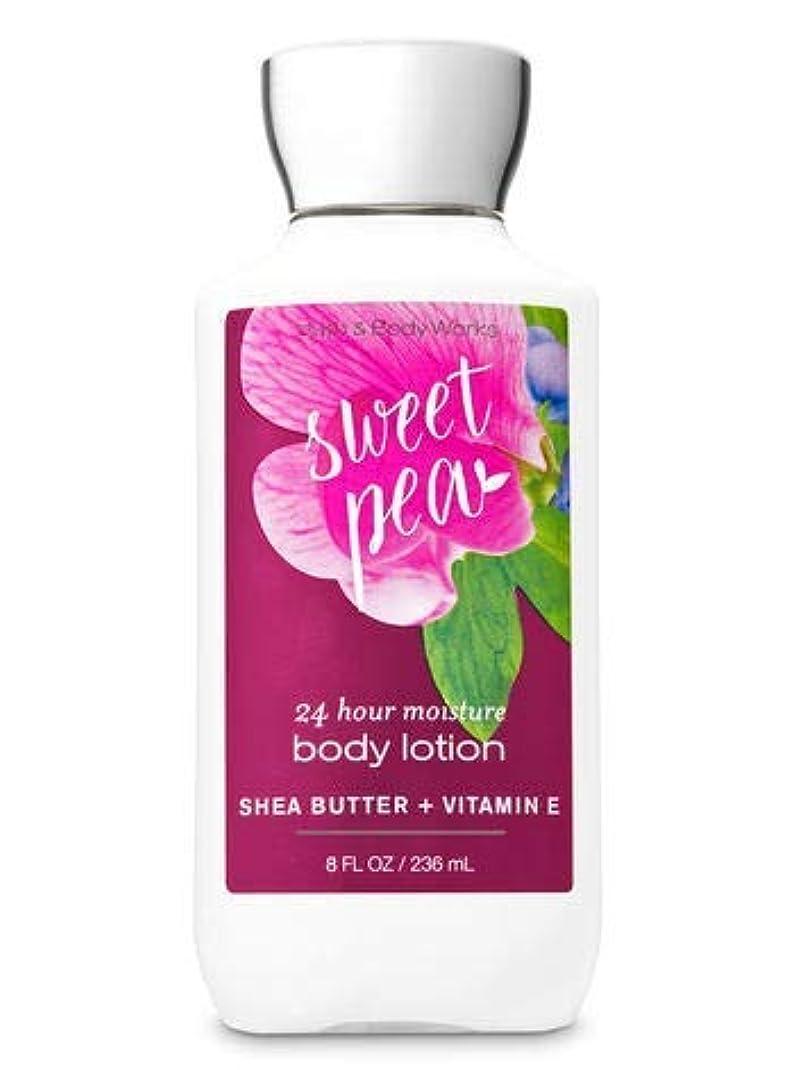 冷淡なコンソール商品Bath & Body Works Sweet pea body lotion 236ml 並行輸入品
