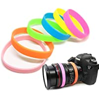 一眼レフカメラ保護用パッキン【ゴムリング、ブレスレット】 (黑色/赤色/白色/青色/紫色/黄色/绿色【Sony】)