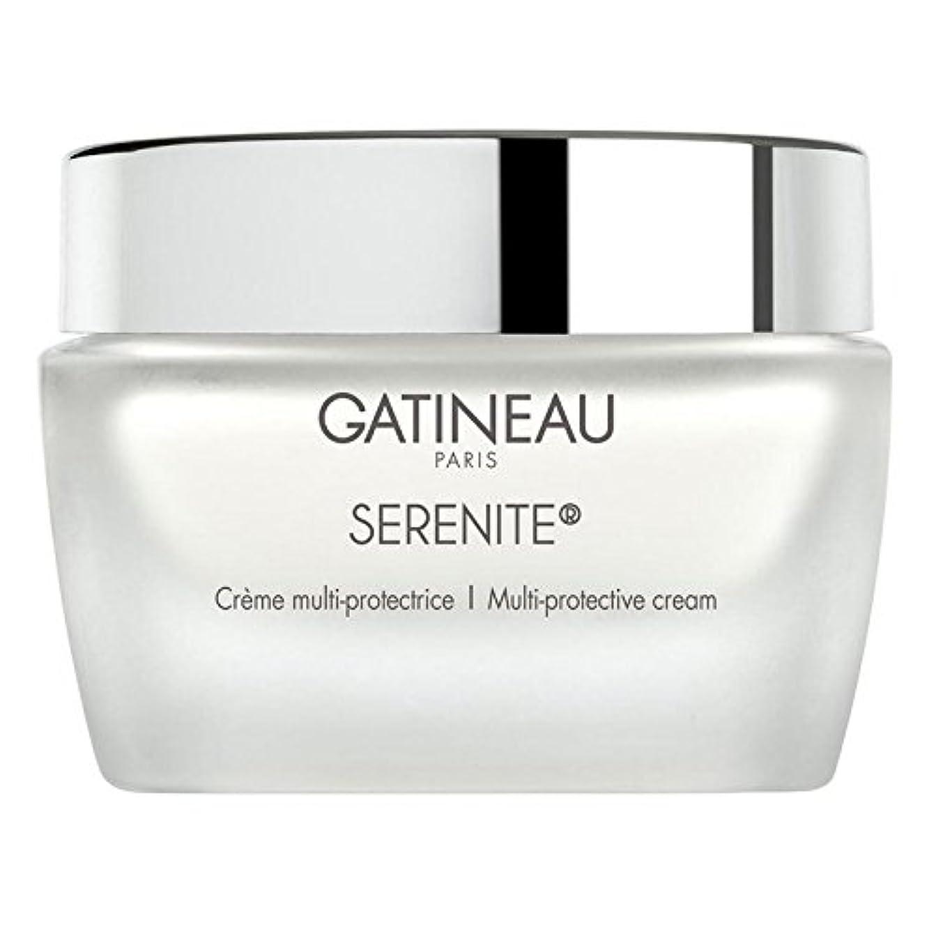 ナラーバーバーター無数のGatineau Multi Protective Cream 50ml (Pack of 6) - ガティノーマルチ保護クリーム50 x6 [並行輸入品]