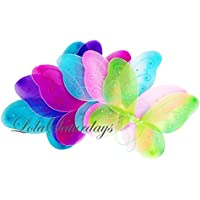 [ローラサタデイ]LolaSaturdays 5 Pack Assorted Fairy Wings LYSB013TJWBGY-TOYS [並行輸入品]