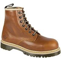 Dr. Martens DM Docs Icon 7B10 Tan Steel Toe Cap 7 Eyelet Heavy Duty Safety Boots