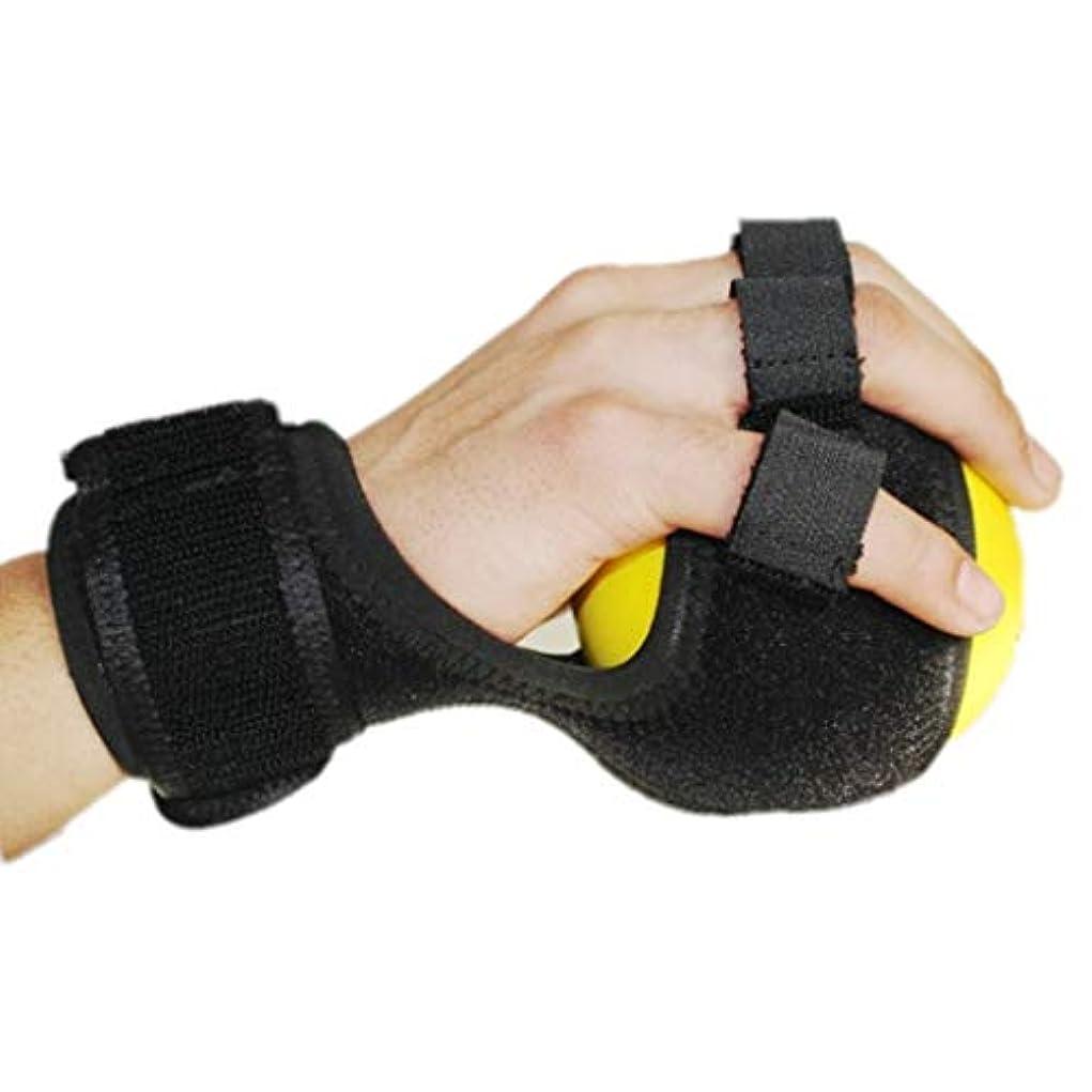 所有者水っぽいジュースグリップボールは手をつない機能障害アンチスクワット指補正デバイスのデバイストレーニング機器ストローク片麻痺リハビリトレーニングデバイスを参照します