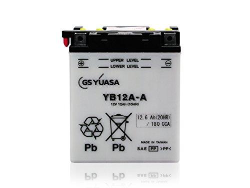 ジャパン GSユアサバッテリー YB12A-A(12Vバイク用)【開放式バッテリー】