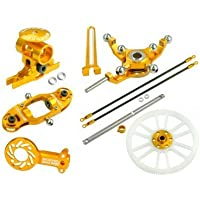 Microheli CNC Blade 200 SR X Performance package (GOLD) - BLADE 200 SRX by Microheli Co. [並行輸入品]
