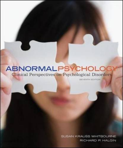 Download Abnormal Psychology: Clinical Perspectives on Psychological Disorders with DSM-5 Update 1259133389
