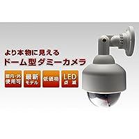 ドーム型ダミーカメラ (屋内/屋外可) ABTECK-038 〔防犯/万引き・不正行為の威嚇〕