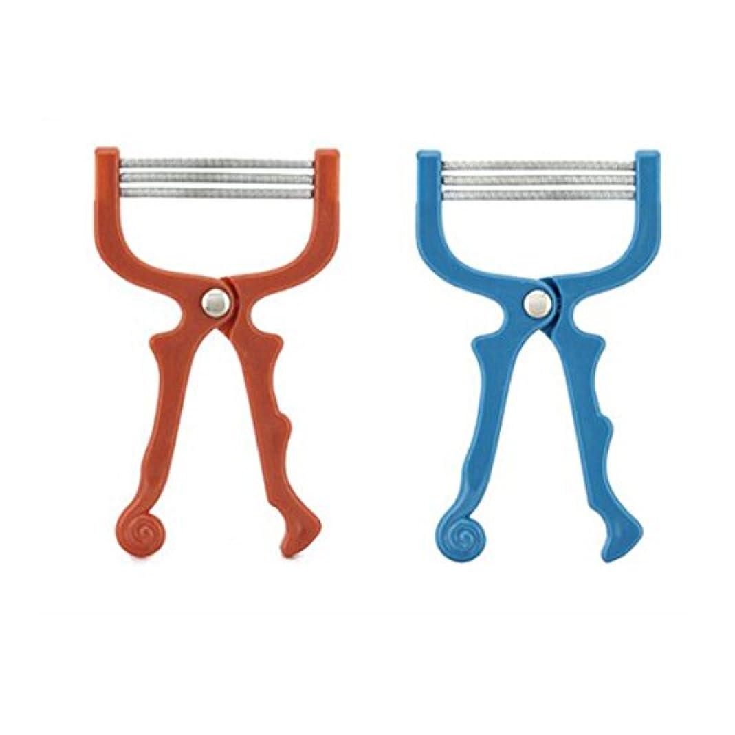 デザイナー見分ける前書きROSENICE フェイスエピローラー 脱毛器(ランダム カラー)