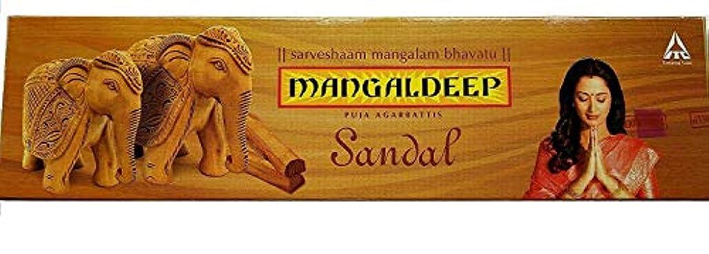 オープニング抽出苦難Mangaldeepサンダル供養Agarbattis 85 Incense Sticks