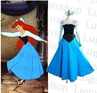 LUGANO-K3020(L) ディズニー ARIEL (アリエル) 風  クリスマス ハロウィン イベント仮装 コスチューム コスプレ衣装