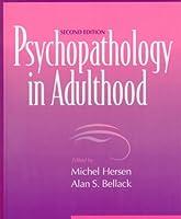 Psychopathology in Adulthood