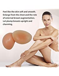 シリコーンフォーム偽乳房エンハンサープッシュアップパッドブースターブラインサート人工乳房リアルな防水シリコーン乳房フォーム