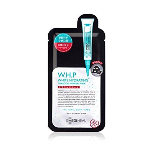 メディヒール(Mediheal) W.H.P 美白水分炭ミネラルマスク 25ml x 10個