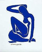 Blue Nude I by Henri Matisse 31x24 Art Print Poster 【Creative Arts】 [並行輸入品]